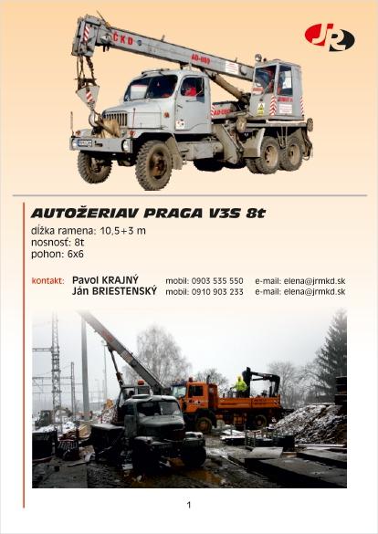 Praga V3S 8t