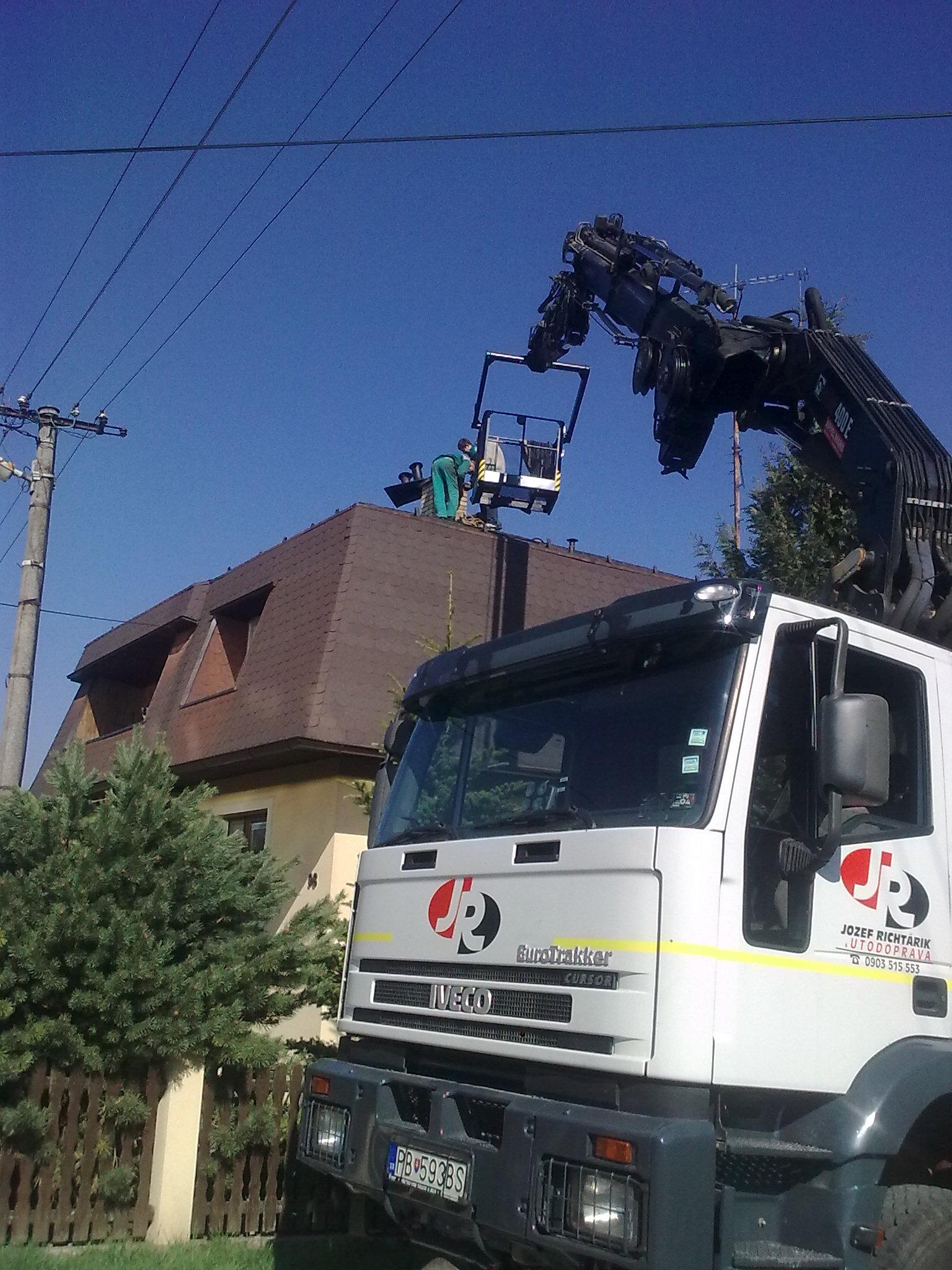 oprava komínov